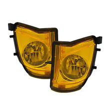 Fit Lexus 06-10 IS250/IS350 Yellow Bumper Replacement Fog Lights Pair Set