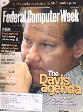 Federal Computer Week Magazine The Davis Agenda April 21, 2003 082817nonrh2