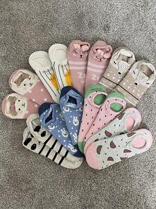 Bundle Lot of ankle socks brand new gift panda stripes grey Cute Black Pink