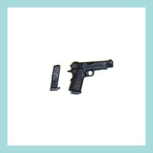 Mezco Exclusive ONE:12 Baker's Dozen – 9mm Handgun with Extra Ammo Clip