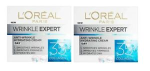 L'Oreal Paris Wrinkle Expert Anti-Wrinkle Hydrating Day Cream 35+ 2 x 50ml