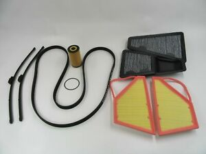 Bentley Gt Gtc Flying Spur belt filter wiper blades maintenance kit #733