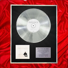 GEORGE MICHAEL PATIENCE  CD PLATINUM DISC VINYL LP FREE SHIPPING TO U.K.