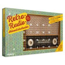 Franzis Adventskalender Retro-Radio Bausatz Baukasten Weihnachtskalender