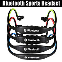 WIRELESS BLUETOOTH HEADSET EARPHONE STEREO SPORTS HEADPHONES FOR IPHONE FOR IPAD