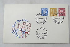 FDC First Day Cover Norway Norwegen Norge Posthorn Oslo 1974