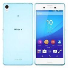 Coque Silicone GEL Transparente Bleu Ultra Souple Slim pour Sony Xperia Z5