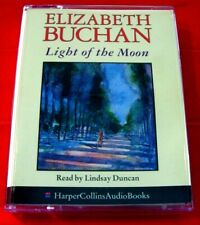 Elizabeth Buchan Light Of The Moon 2-Tape Audio Lindsay Duncan History/Romance