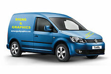 Volkswagen Caddy Small Custom Van Vehicle sign writing Kit Vinyl VW Car Stickers