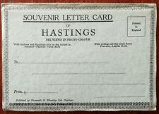 Hastings Souvenir Letter Card Six Views in Photo-Colour, Shoesmith & Etheridge