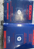 1993 DODGE RAMCHARGER TRUCK D&W DW 150 250 350 Service Shop Repair Manual Set