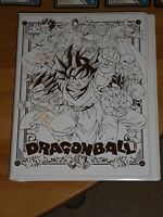 DRAGON BALL V Jump Card/Carte Festa 2009 Limited Edition Carddass Gold Binder