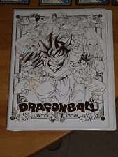 DRAGON BALL V Jump Card/Carte Festa 2009 Limited Edition Carddass Gold Binder