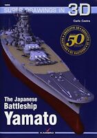 The Japanese Battleship Yamato (Super Drawings in 3D) by  Cestra, Carlo