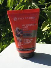 Yves Rocher Energie Homme Men Exfoliating Facial Gel Anti Fatigue 100 ml./3.3 fl