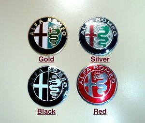 1x Alfa Romeo Wheel Center Hub Cap Emblem Badge Logo Decal Car Sticker Small