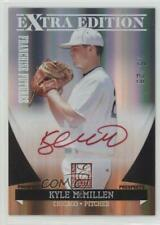 2011 Donruss Elite Extra Edition Red Ink /25 Kyle McMillen #13 Auto