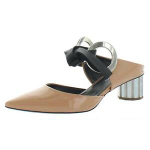 Proenza Schouler Womens Rings Tan Mules Shoes 38.5 Medium (B,M)  2592