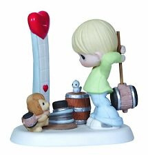 Precious Moments Our Love is Strong Porcelain Figurine - #123006