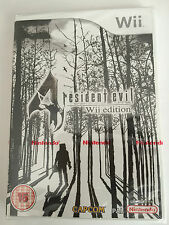 Resident evil 4 pour nintendo wii (new & sealed)