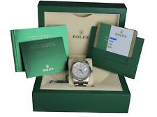 BRAND NEW 2020 Rolex Sky-Dweller Stainless 18K White Gold 326934 42mm Watch
