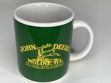 John Deere Coffee Mug by Gibson Green & Yellow John Deere Cup Moline, Illinois