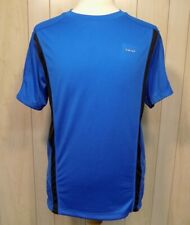 Hind Men's Athletic Shirt Size L Short Sleeves Blue