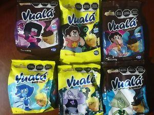 18 pack Vuala Empty bags + 18 suprise toy México steven universe Limited Edition