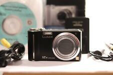 Panasonic LUMIX DMC-TZ6 10.1MP Digital Camera - Black (ZS1)