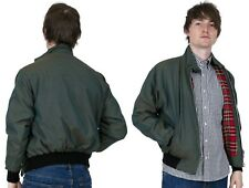 Relco Men's Harrington Jacket Two Tone Tonic Green Gold Scooter Skinhead Mods