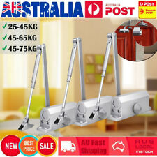 Heavy Duty Adjustable Fire Rated Hold Open Overhead Door Closer Suits 25~75KG AU