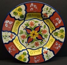 Pier 1 Vallarta Salad Plate Multiples Available Tuscan Italian Red Yellow Blue