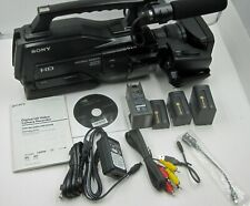 Sony Hxr-Mc2000U Camcorder Used/Mint Condition, Orig Accessories, Box + Extras