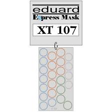 EDUARD 1/35 WHEEL PAINT MASK for TAMIYA TIGER I or STURMTIGER XT107
