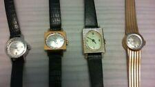Lotto stock 4 orologi Vintage a carica manuale - Komet Timex