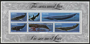South West Africa 442a MNH Whales, Squid