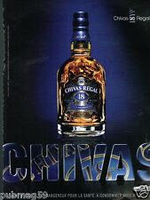 Publicité advertising 2007 Scotch Whisky Chivas Regal