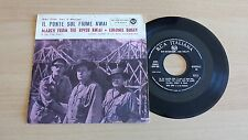 "DAVID TERRY E LA SUA ORCHESTRA-MARCH FROM THE RIVER KWAI-45 GIRI 7""-ITALY PRESS"