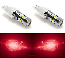 LED Light 30W 912 Red Two Bulbs High Mount Stop 3rd Brake Replacement Upgrade OE
