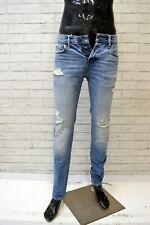 ABERCROMBIE & FITCH Jeans Pantalone Corto Cotone Uomo Taglia 29 Pants Man