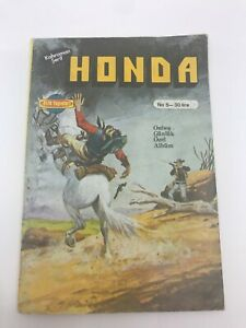 HONDA #9 #10 Turkish Comic Book 1980s Very Rare WESTERN