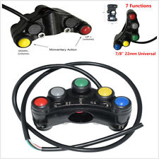 """Multifuction 7 buttons Motorcycle Handlebar Switches Assembly 7/8"""" 22mm for KTM"""