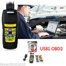 U581 Professional Super Diagnostic Scan Tool CAN OBDII OBD2 Code Scanner Reader