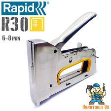 Rapid R30 Stapler / Staple Gun - Long Nose Upholstery Tacker 13 Series Ergonomic