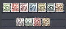 NEW GUINEA 1931 SG O31/41 MINT Cat £225