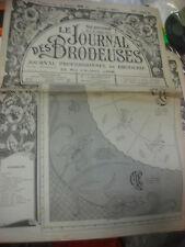 ANCIEN JOURNAL LA BRODERIE LYONNAISE 1950 - 1950 VINTAGE EMBROIDERY PATTERNS