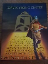 JORVIK VIKING CENTRE foreward Magnus Magnusson Official Guide book illustrated