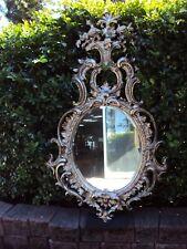 Silver Ornate Domenique Mirror