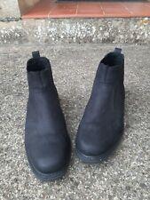 Mens Black leather Chelsea boots size UK 10. Marks & Spencer. Hardly worn