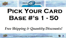 2019-20 Upper Deck Ice Base Card - Pick Your Card - Free Shipping & QTY DISC UD